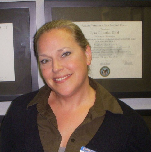 Corrective Steps Foot Health Center staff Shannon Neary